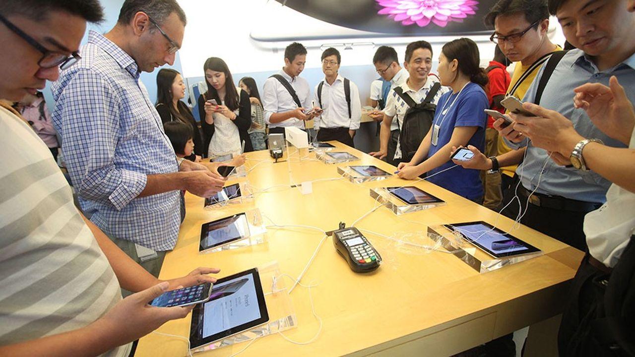 Les ventes de smartphones ont reculé de 2,9% sur un an selon IDC.