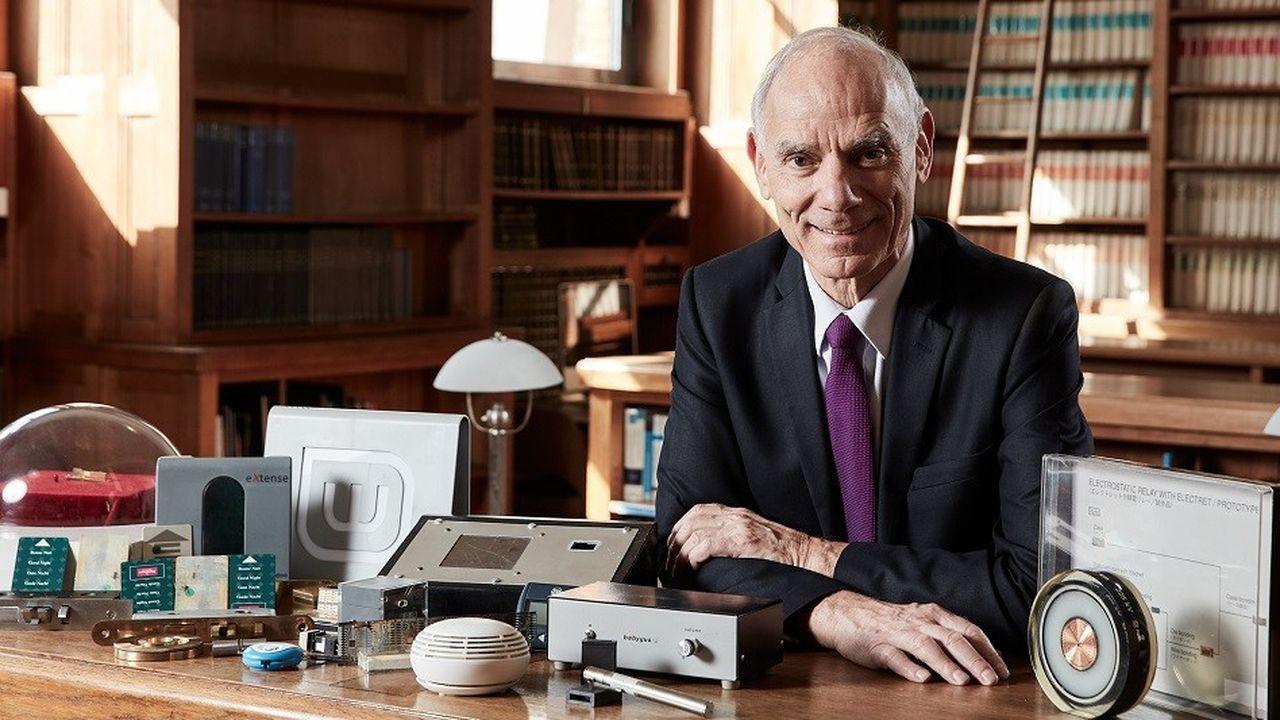 Jacques Lewiner est un inventeur prolifique en électronique: alarme incendie, clé magnétique, impression 3D…
