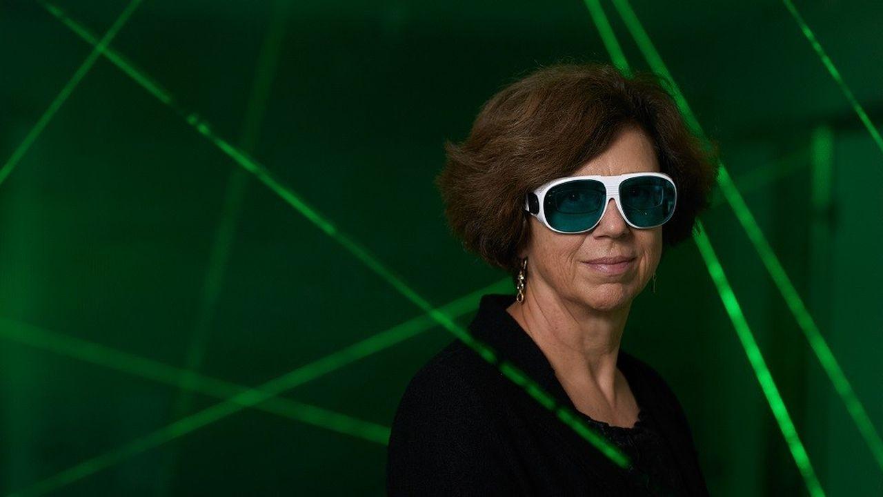 Ursula Keller a permis le développement de laser à impulsions ultrarapides.