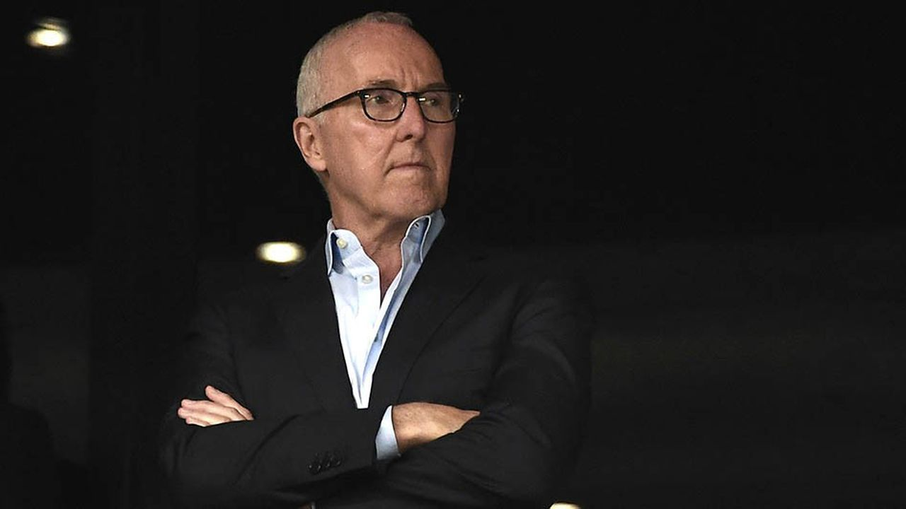 L'homme d'affaires américain Frank McCourt est propriétaire de l'Olympique de Marseille depuis octobre2016.
