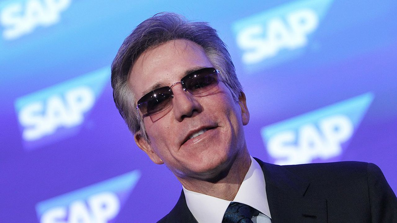 Bill McDermott, directeur général de l'allemand SAP.
