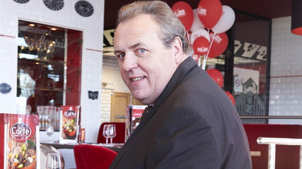 Bertrand Baudaire, président du groupe de restauration La Boucherie.