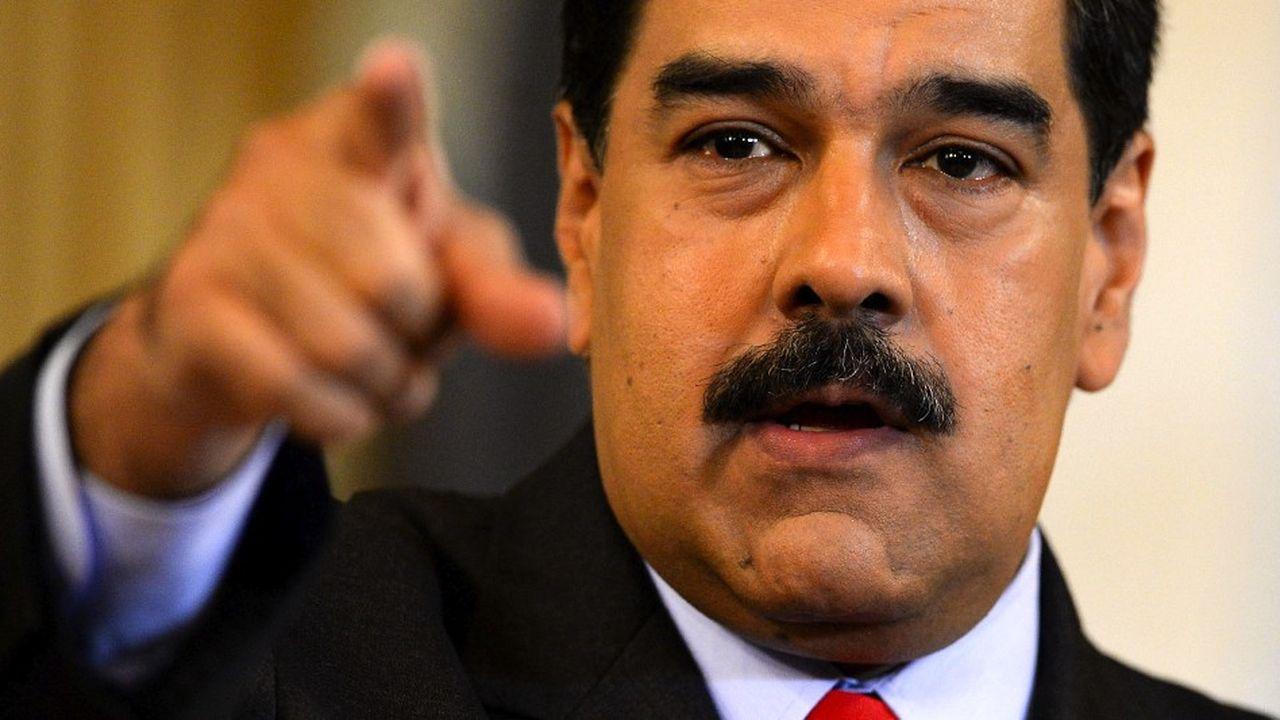 Le president vénézuélien Nicolas Maduro