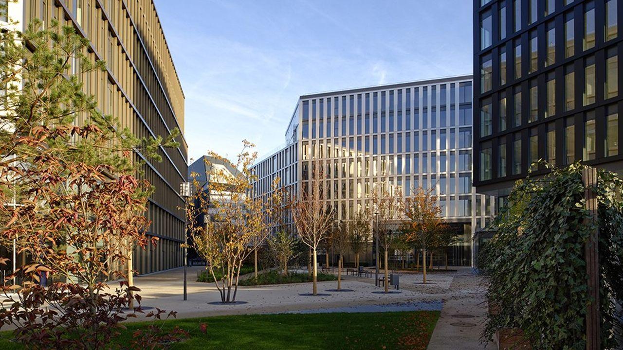 Altice Campus, dans le 15e arrondissement de Paris