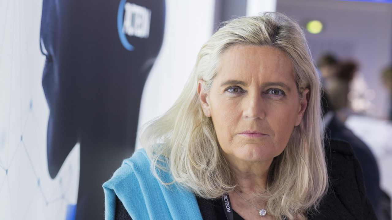 La présidente d'Acteon, Marie-Laure Pochon.
