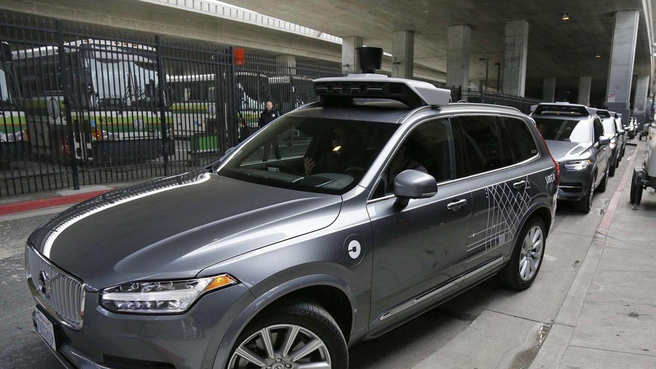 Les véhicules autonomes d'Uber roulaient sur les routes de l'Arizona depuis 2016.