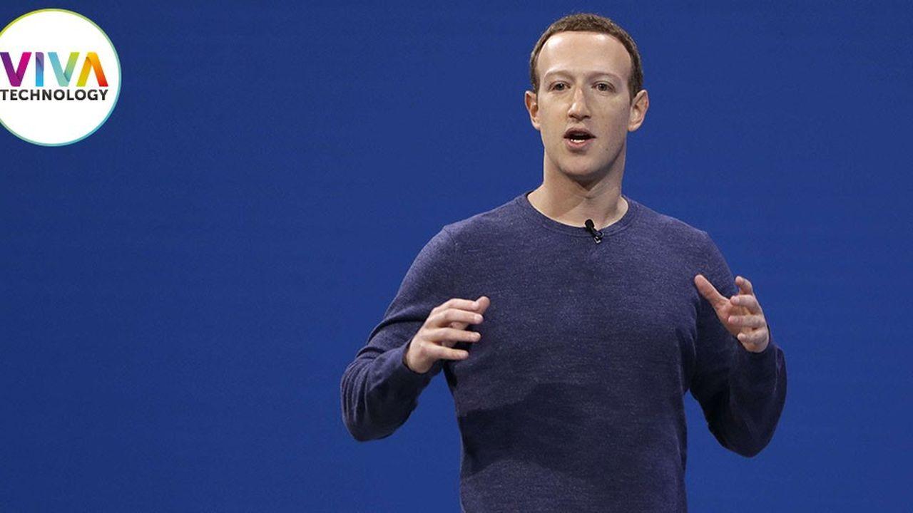 Le PDG de Facebook, Mark Zuckerberg