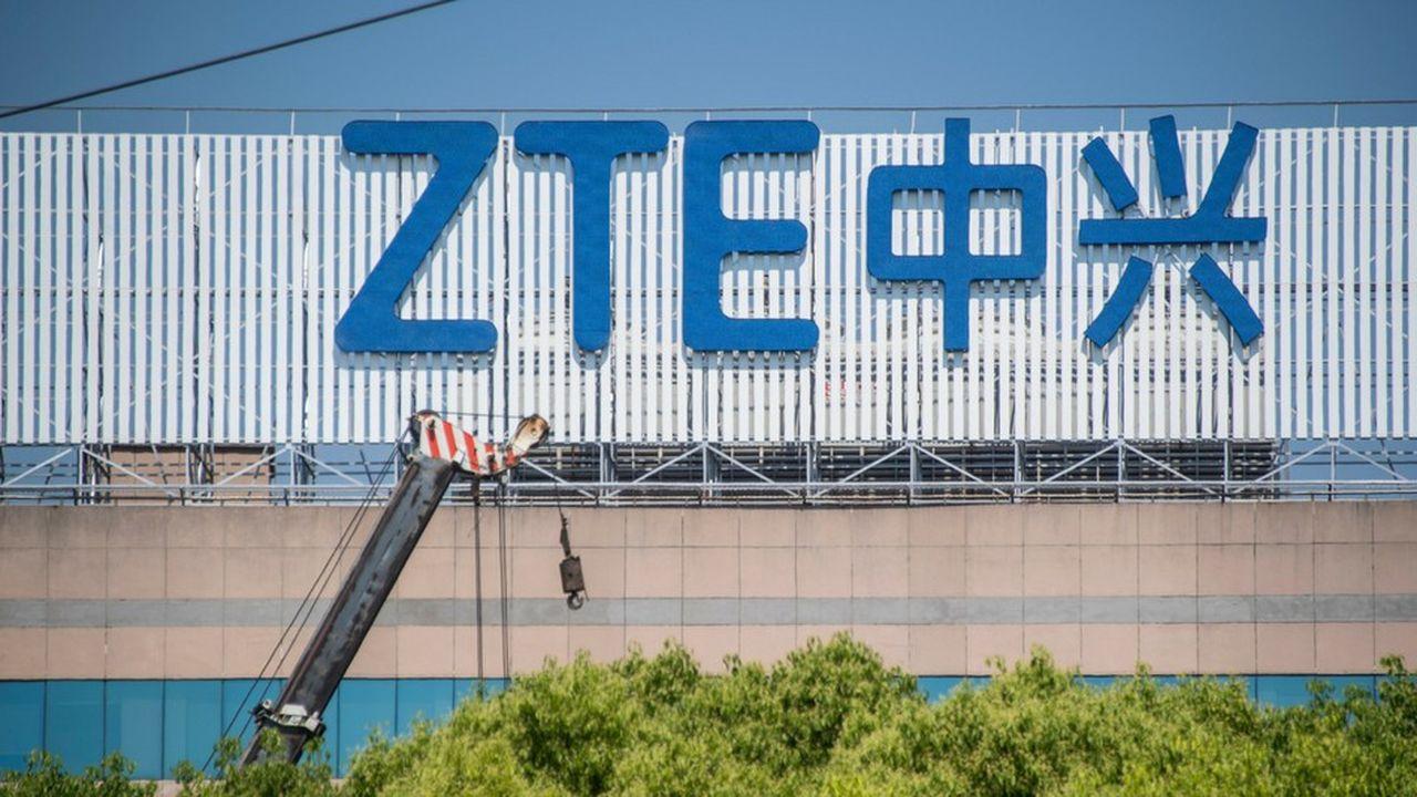 L'équipementier de télécommunications chinois est en mauvaise posture depuis la mi-avril aux Etats-Unis.