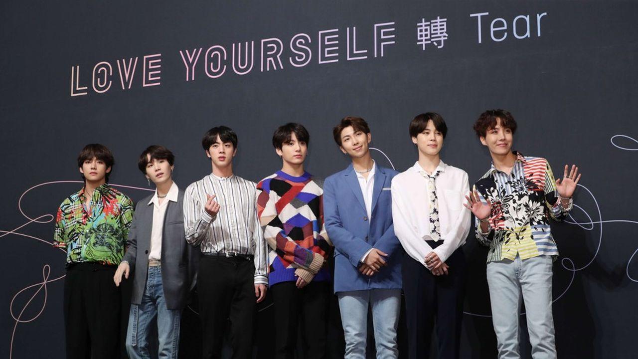 Les sept membres de BTS ne cachent pas leur ambition: se placer ultérieurement au sommet du Billboard Hot 100