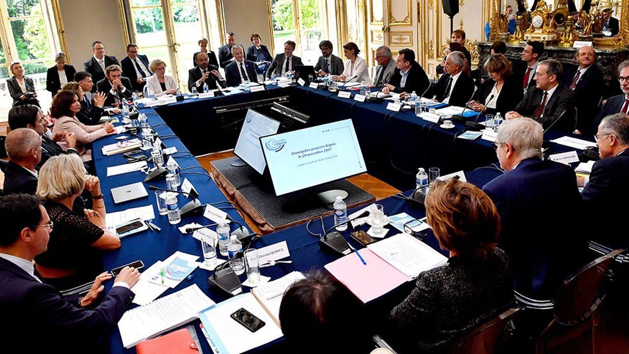 Les représentants de l'industrie étaient réunis ce lundi matin à Matignon autour d'Edouard Philippe, Muriel Pénicaud et Bruno Le Maire.