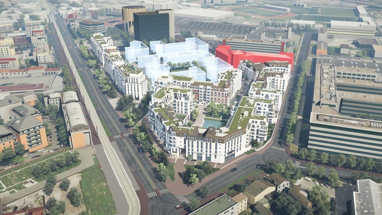 Proche du tramway T6, le nouveau quartier sera constitué de 1.000 logements (dont 25 % de logements sociaux et 75 % en accession à la propriété), un groupe scolaire (maternelle et élémentaire), des commerces, des restaurants, un hôtel 3 étoiles, des résidences étudiantes et seniors…