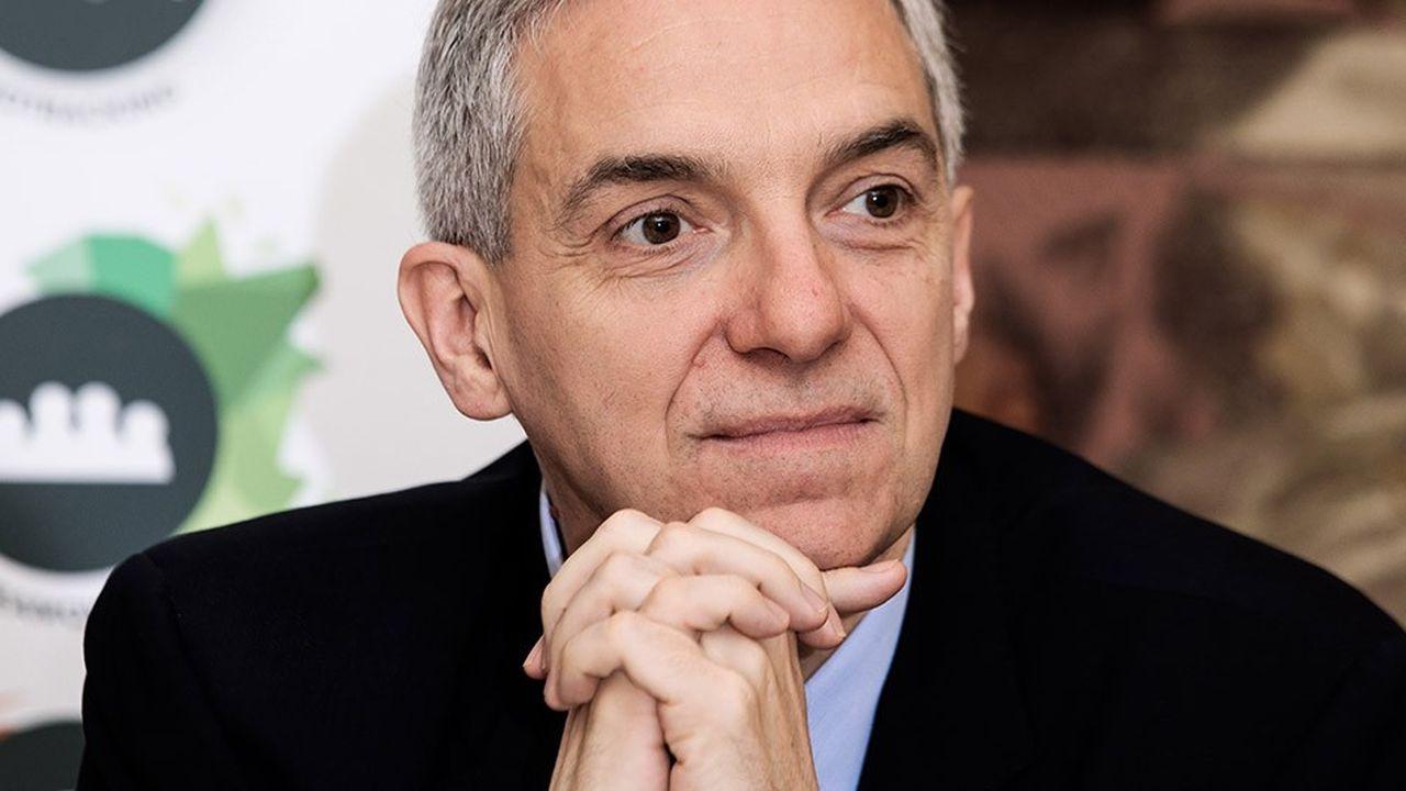Alexandre Saubot, candidat à la présidence du Medef, est soutenu notamment par la Fédération bancaire française.
