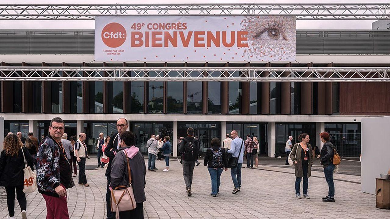 Le 49e congrès de la CFDT se tient jusqu'à vendredi à Rennes.