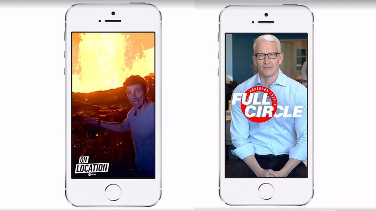 Facebook va financer des émissions quotidiennes comme «Full Circle» (CNN) et «On Location» (ABC News), mais aussides programmes hebdomadaires.