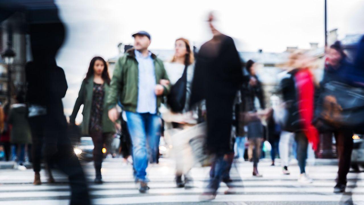Le niveau de vie médian des Français progresse lentement.