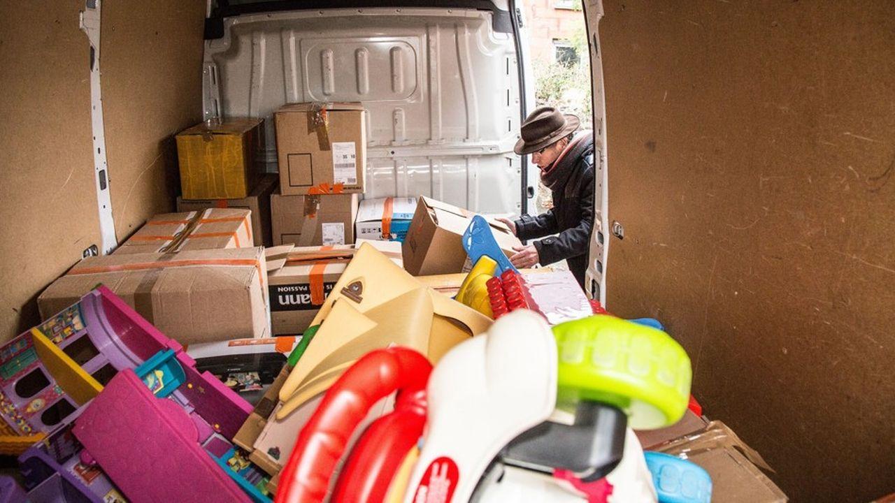 Une collecte de jouets pour les Restos du coeur afin d'égayer le quotidien des enfants en souffrance.