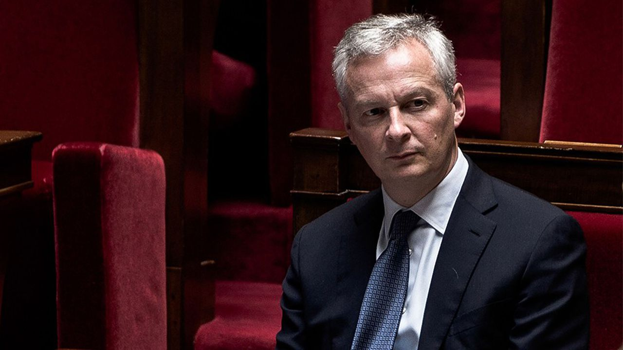 Bruno Le Maire, ministre de l'Economie, est en charge du projet de loi Pacte.