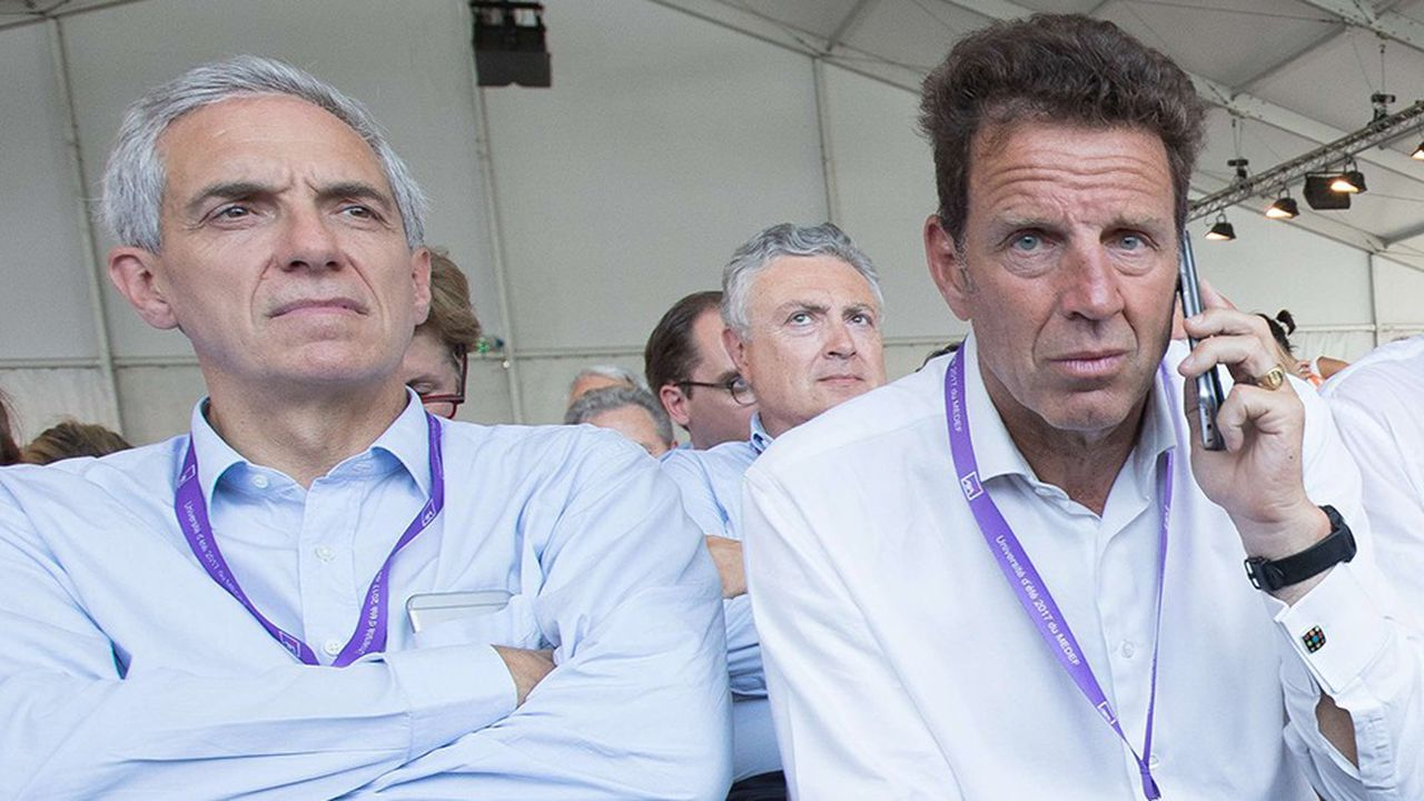 Alexandre Saubot affirme qu'il aurait une centaine de voix d'avance sur son rival Geoffroy Roux de Bézieux pour le vote de l'Assemblée générale du 3juillet.