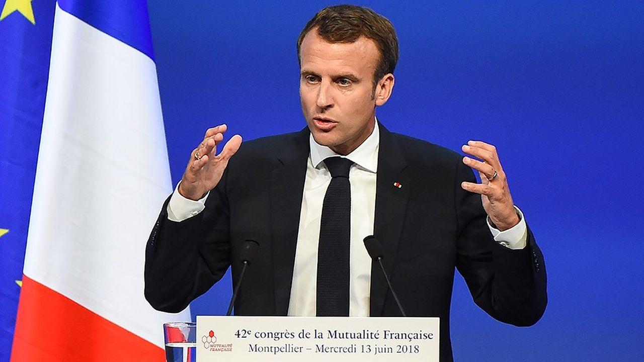Emmanuel Macron veut réinventer l'Etat-providence pour «sortir de la société de statuts».