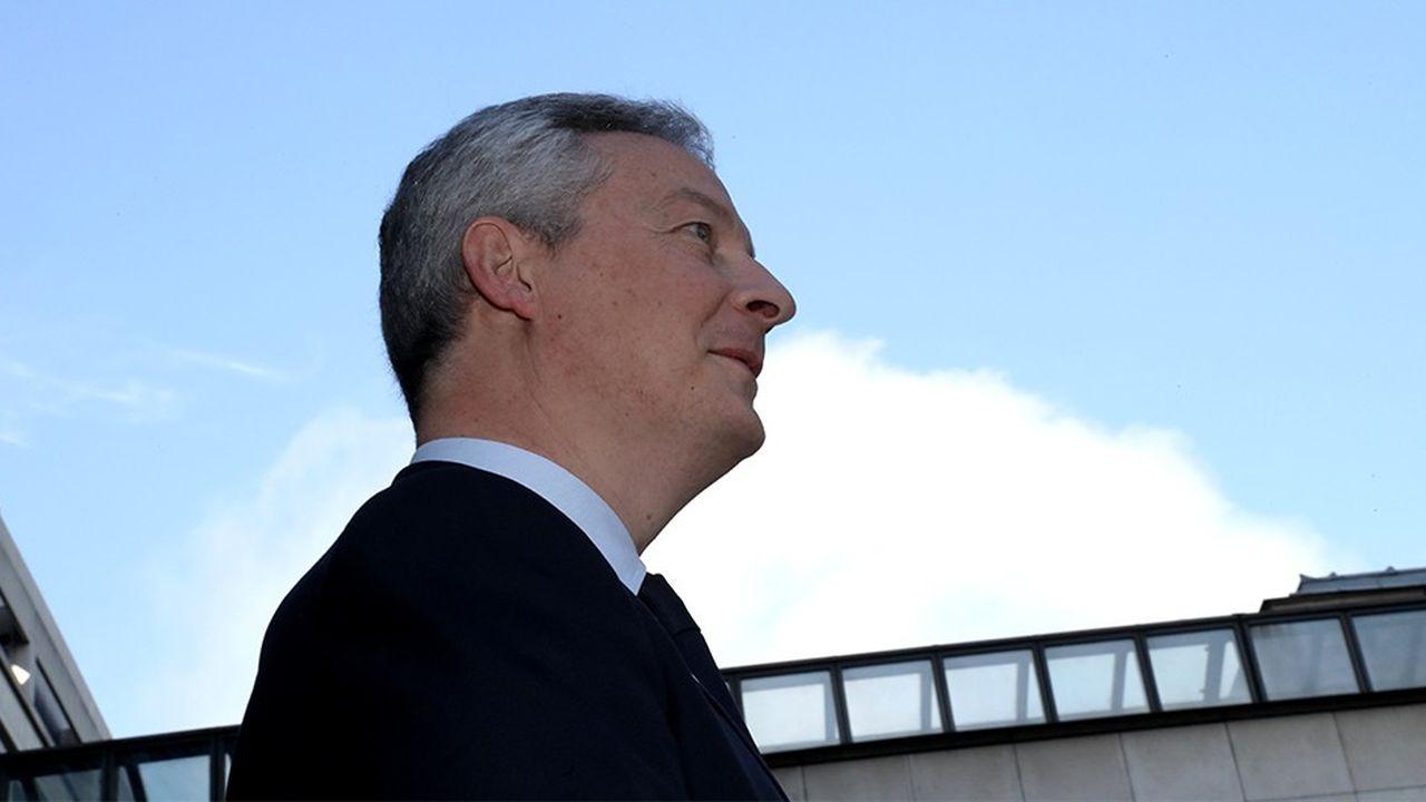 Le ministre de l'Economie, Bruno LeMaire, a l'habitude de présenter sa loi comme un texte qui posera les bases d'un nouveau visage du capitalisme.