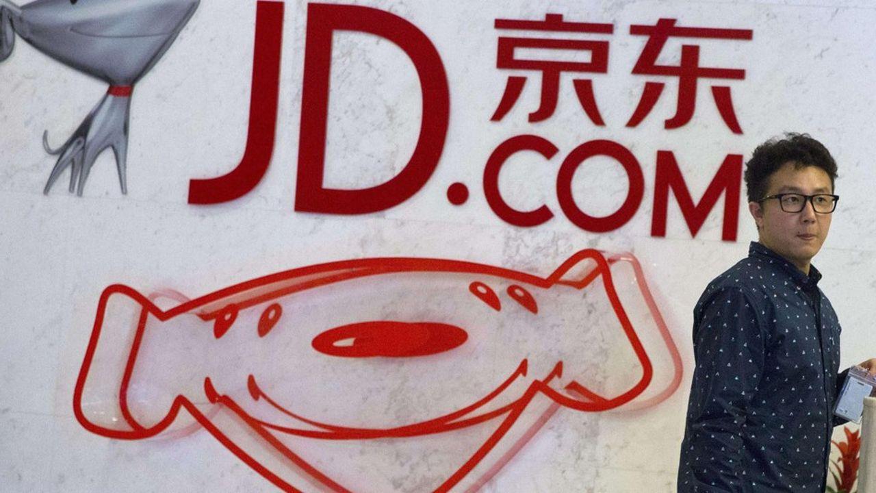 JD.com est l'un des premiers distributeurs en e-commerce en Chine