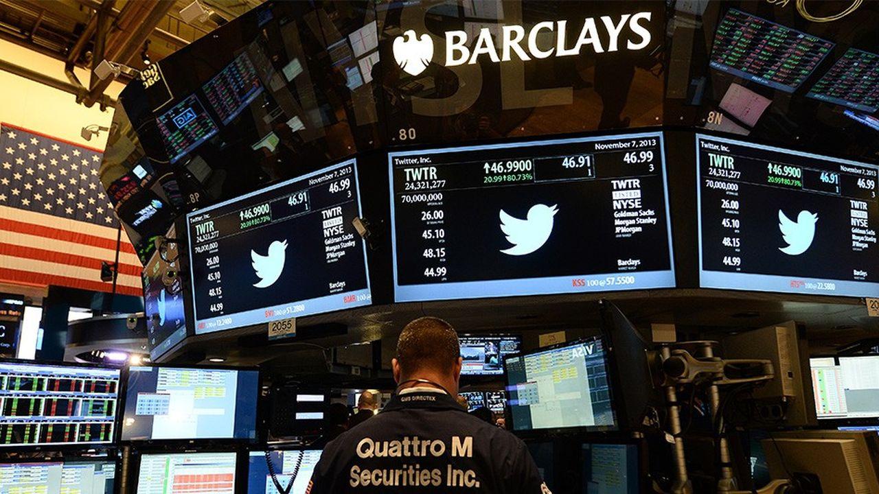 Twitter, qui est entré en Bourse en novembre2013, a émis un milliard de dollars d'obligations convertibles début juin.