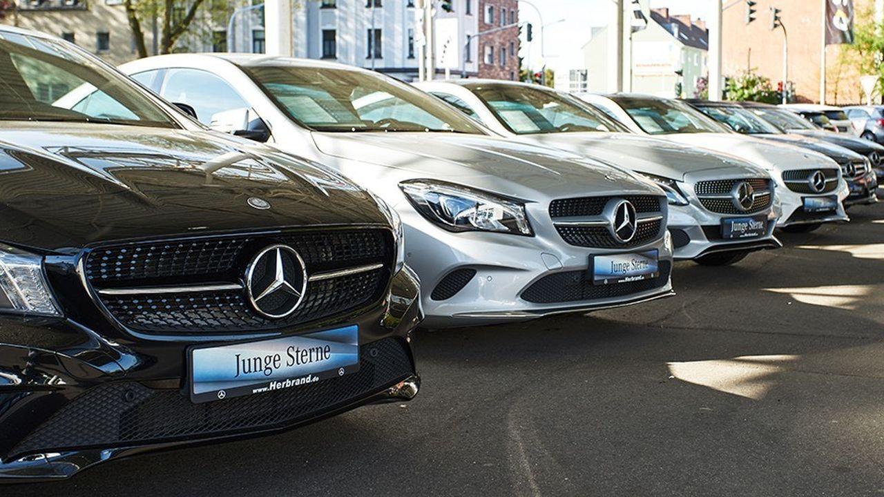 Donald Trump a récemment stigmatisé le nombre de Mercedes circulant dans Manhattan.