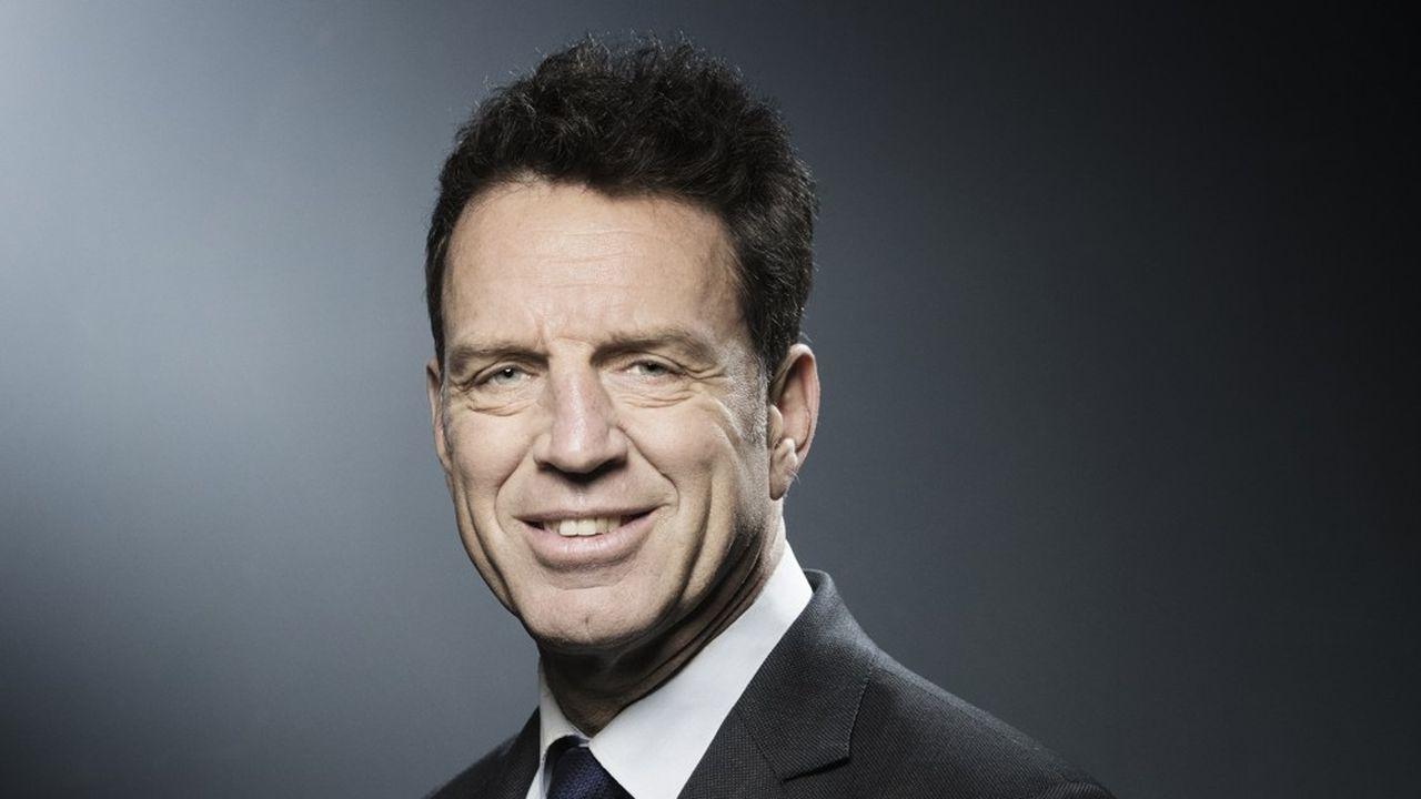 Geoffroy Roux de Bezieux le 4avril 2018.
