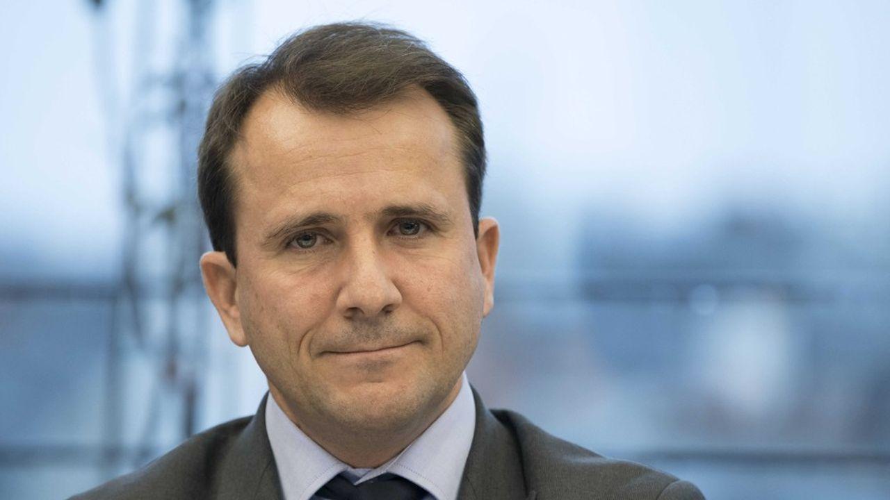 Thibault Lanxade, PDG de Jouve et vice-président du Medef.