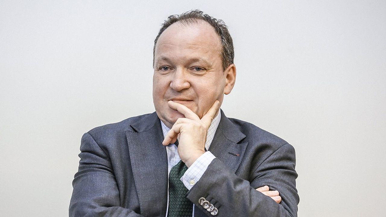Ambroise Fayolle, vice président de la Banque européenne d'investissement, salue un changement de modèle dû au plan Juncker.