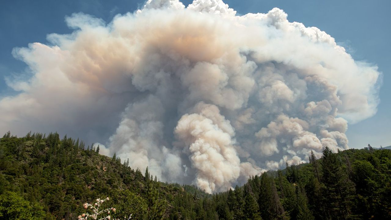 Le feu «Carr» a déjà détruit 32.700 hectares depuis lundi ainsi que 500 bâtiments.