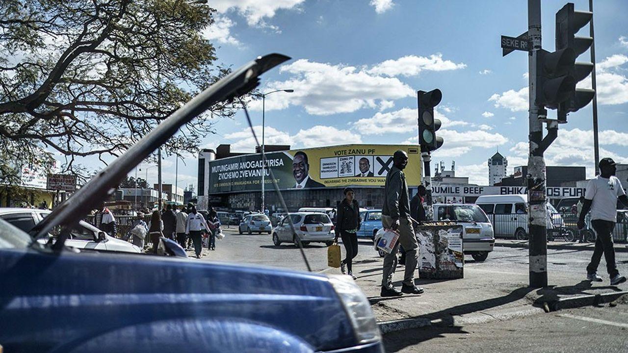 Les élections présidentielles et législatives du 30juillet seront le véritable test pour sortir le Zimbabwe de l'impasse économique.