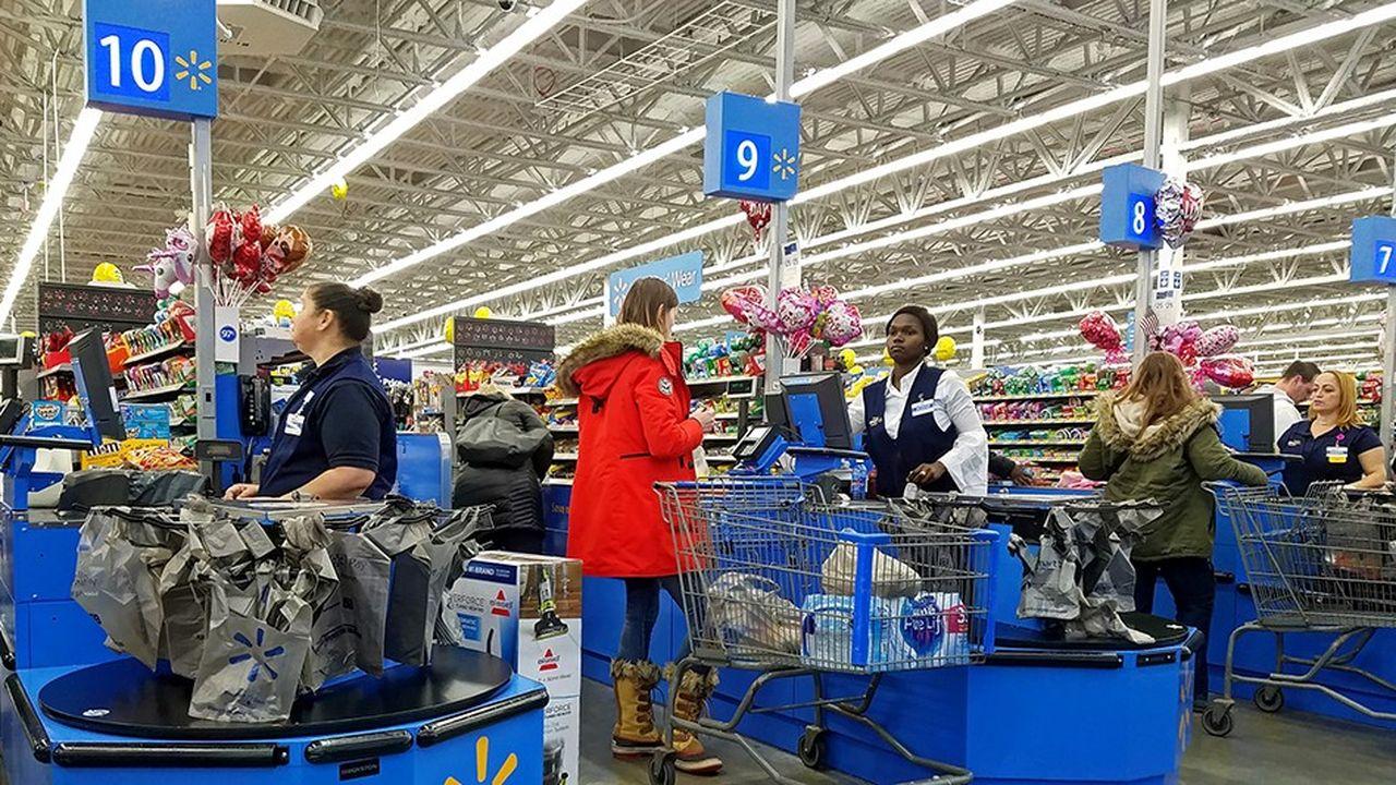 Malgré les offres de télévisions et d'iPads gratuits, les employés de Walmart étaient peu convaincus.