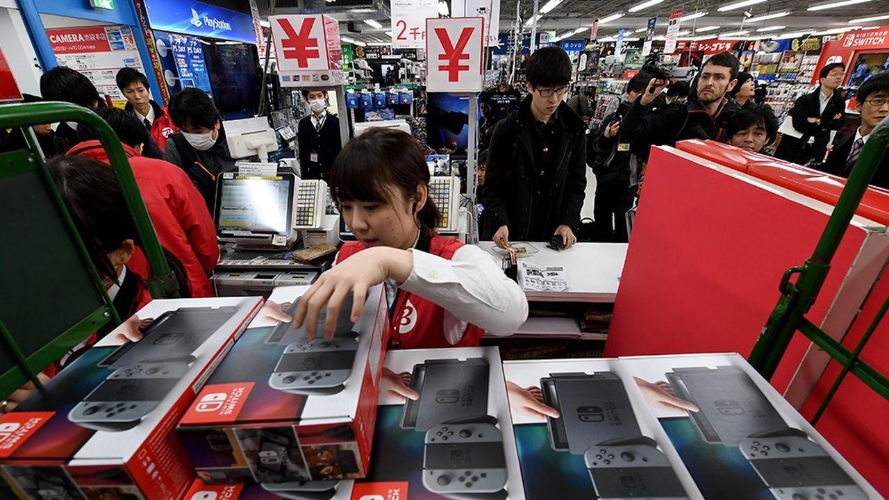 Le titre de Nintendo est sous pression en Bourse malgré le succès commercial de la Switch.