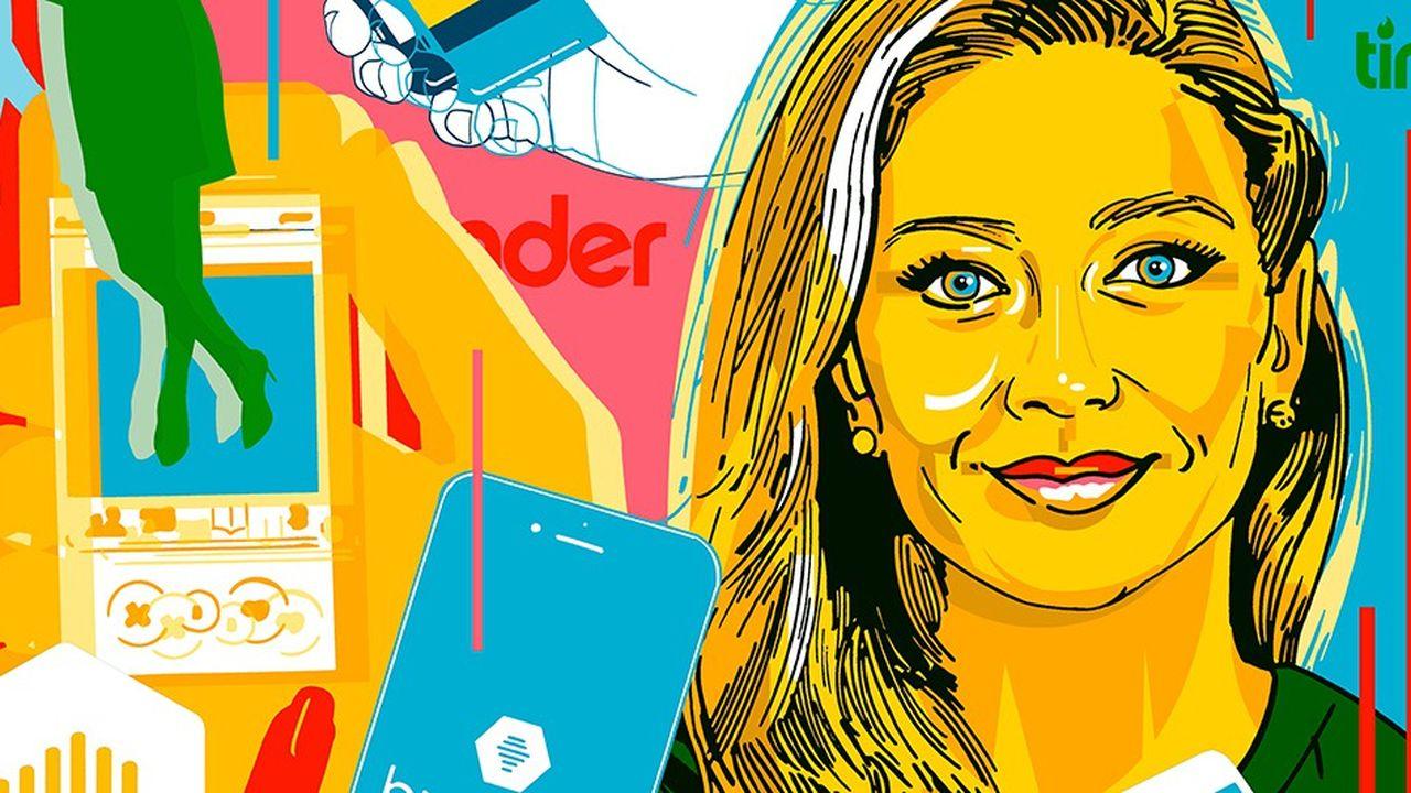 Lancée en décembre 2014, Bumble est contrôlée à 79 % par Badoo et 20 % par Whitney Wolfe, à la tête de l'entreprise.