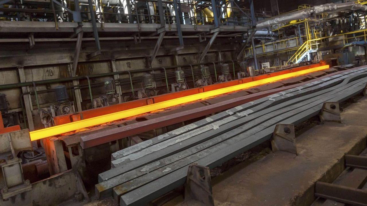 Le chiffre d'affaires semestriel d'ArcelorMittal s'est élevé à 39,2milliards de dollars, en hausse de 17,6% sur un an.