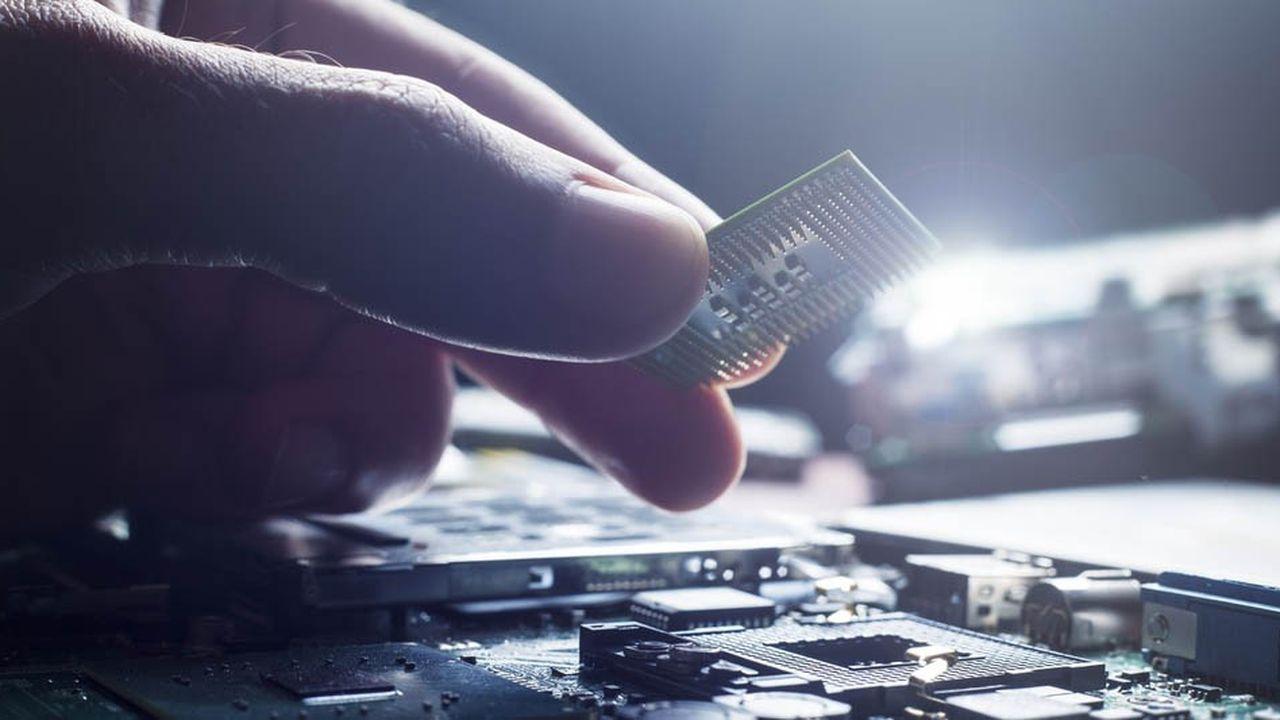 Le regain de forme de l'industrie du PC est une aubaine pour les fabricants américains de semi-conducteurs.