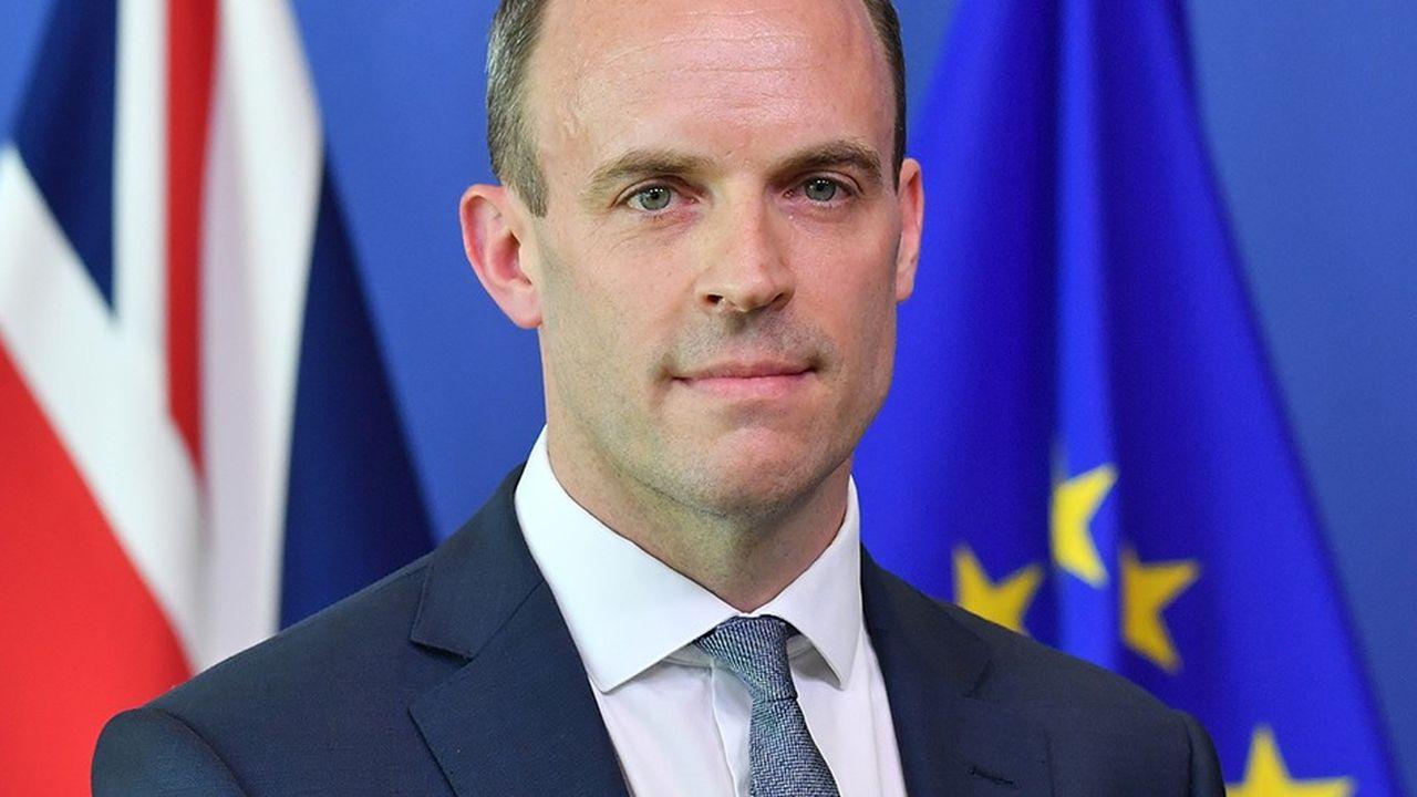 Dominic Raab a été nommé secrétaire d'Etat pour la sortie de l'Union européenne en remplacement du «hard Brexiter» Davis Davis, le 8juillet