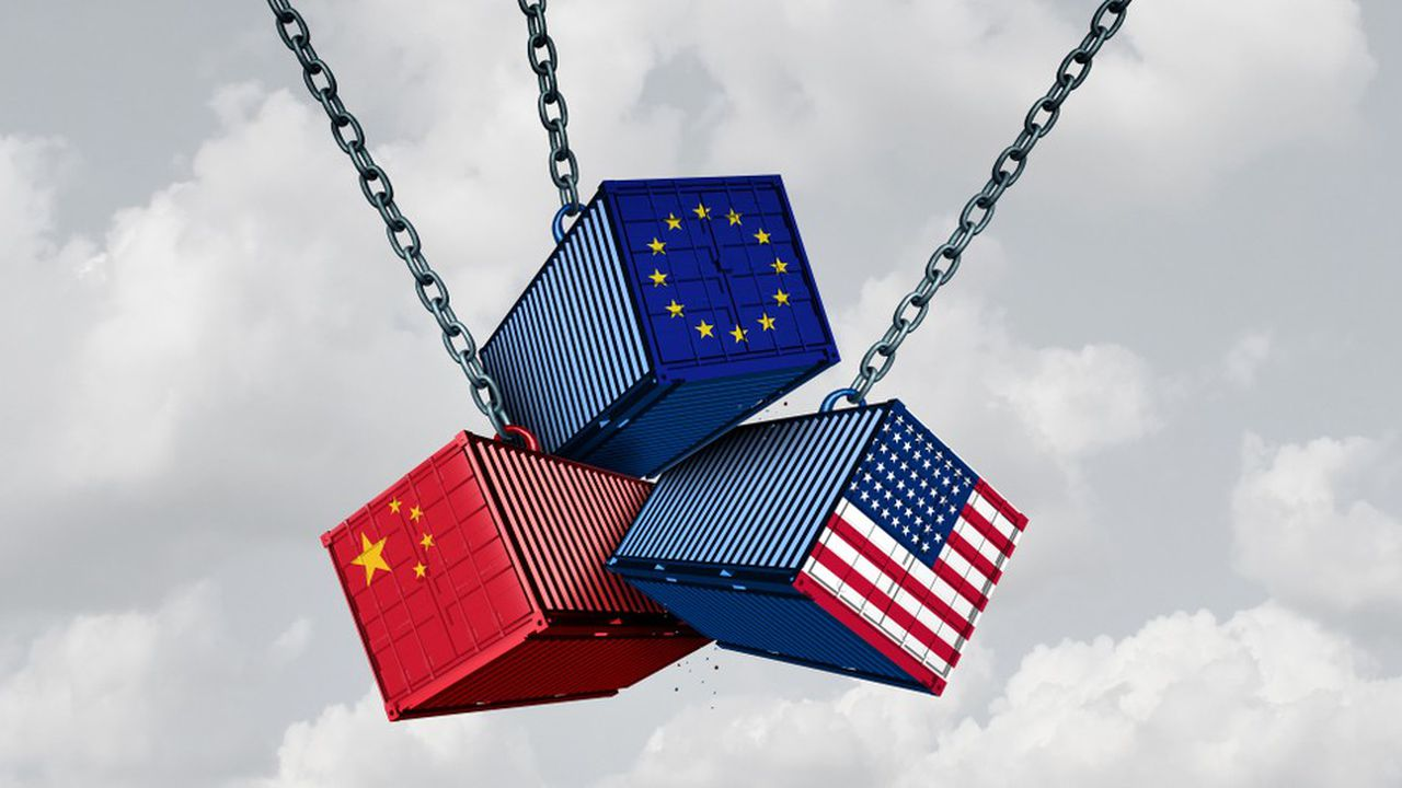 Depuis le début de l'année, les Etats-Unis, la Chine et l'Union européenne se livrent une guerre commerciale.