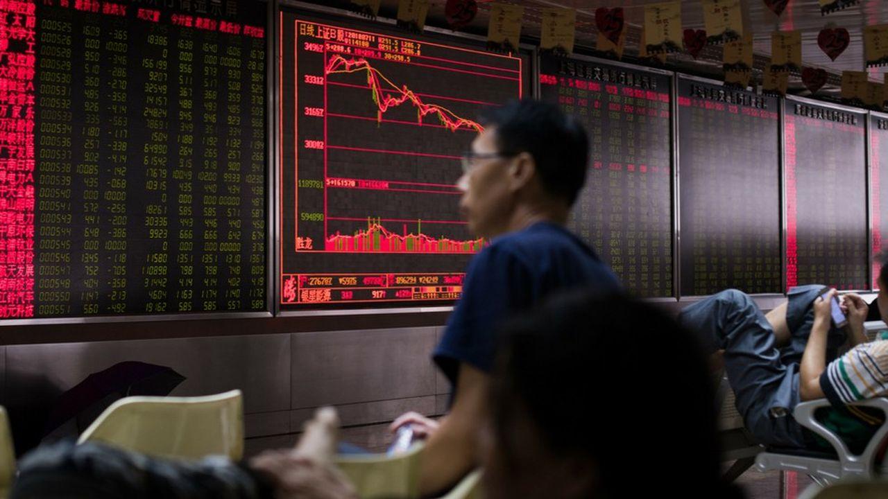 Les Bourses chinoises ont perdu plus de 16% de leur valeur depuis janvier.