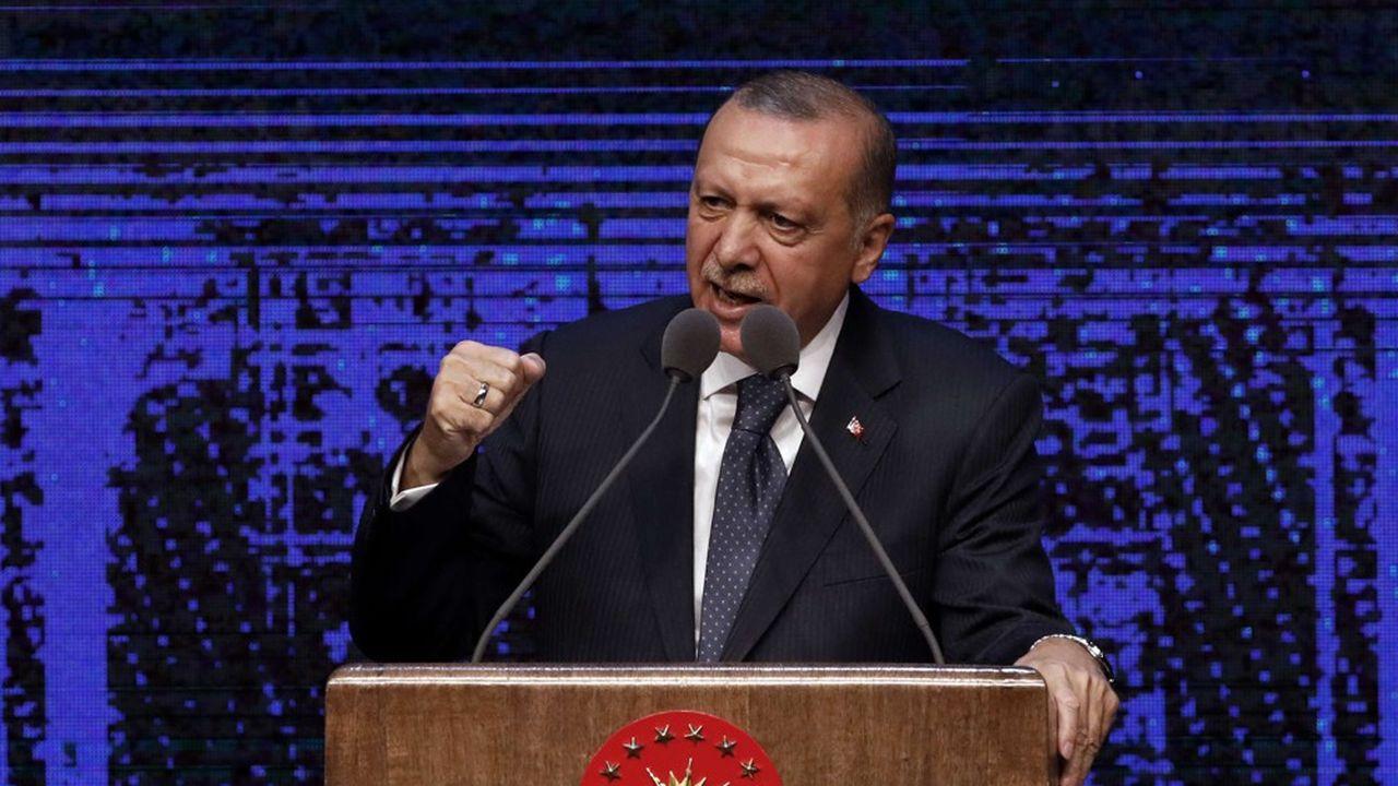 Washington a imposé dès mercredi soir des sanctions contre les ministres turcs de l'Intérieur et de la Justice.