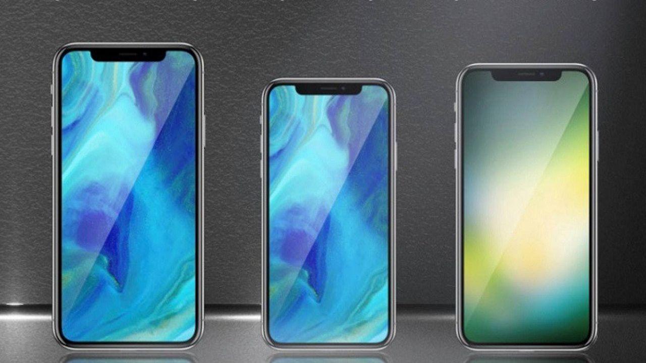 La nouvelle gamme d'iPhone qui pourrait sortir à la rentrée.