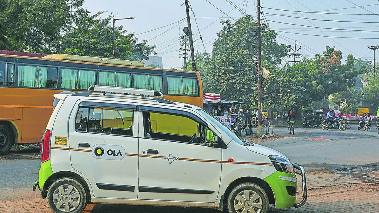 En Inde, la start-up Ola compte 125millions d'utilisateurs et 1million de chauffeurs