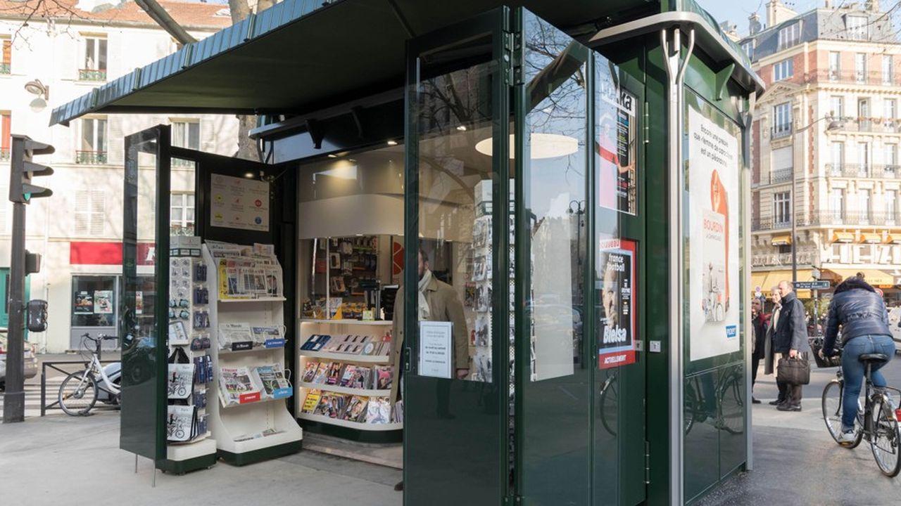 Les nouveaux kiosques parisiens enregistrent des chiffres de ventes supérieurs au reste du réseau.