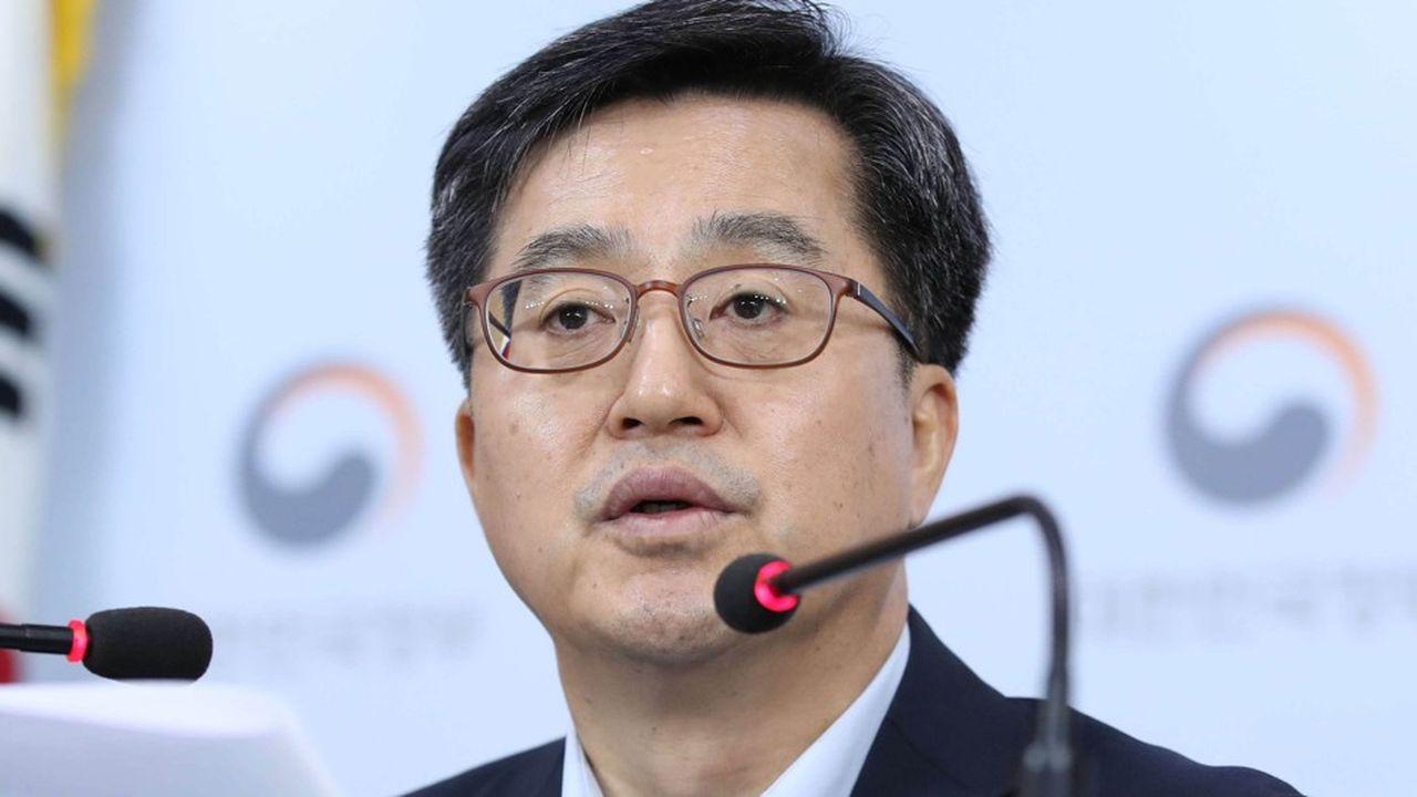 Pour le ministre de l'Economie et des Finances, Kim Dong-yeon, Samsung a un «rôle crucial» à jouer dans la croissance sud-coréenne