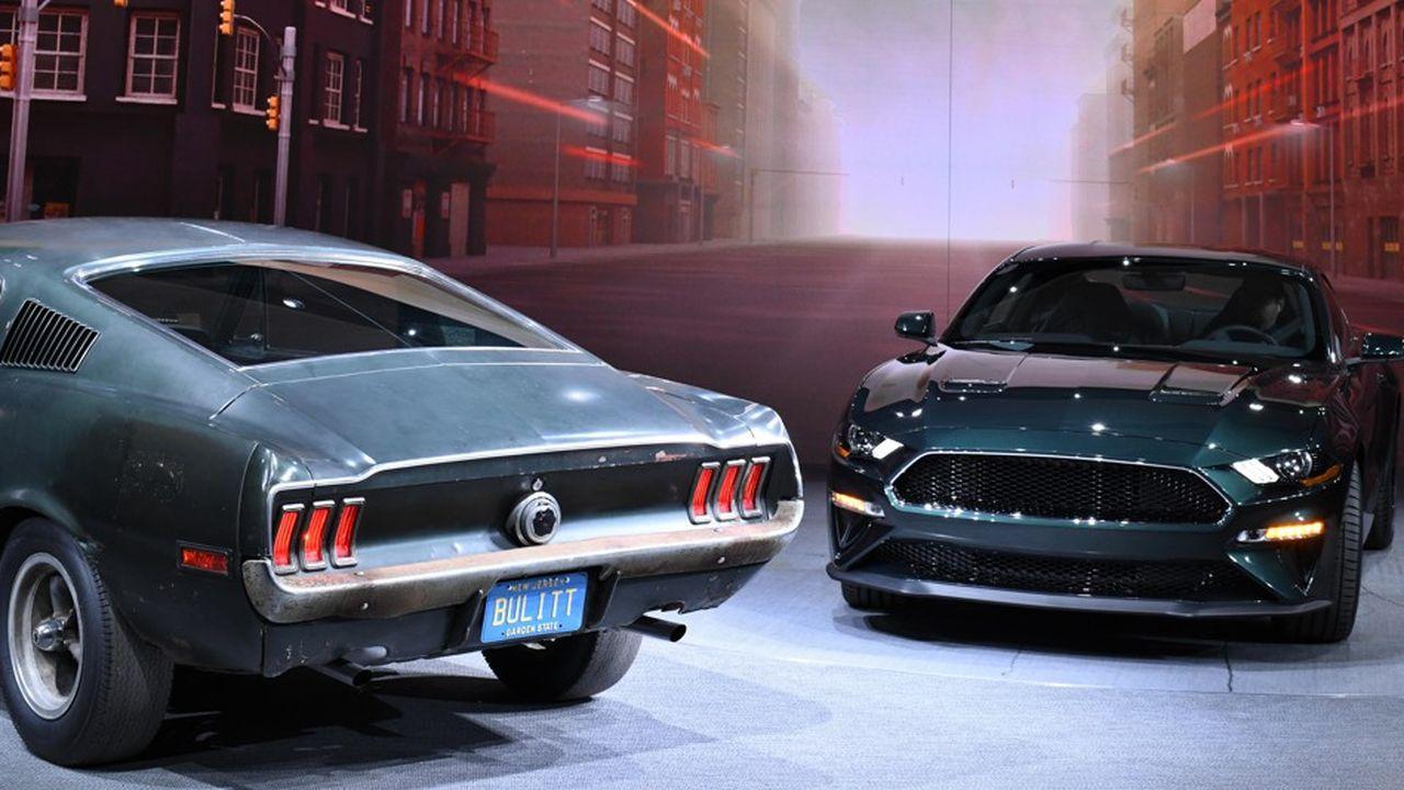 En janvier dernier, Ford a présenté une édition limitée de son modèle baptisée Mustang Bullitt.
