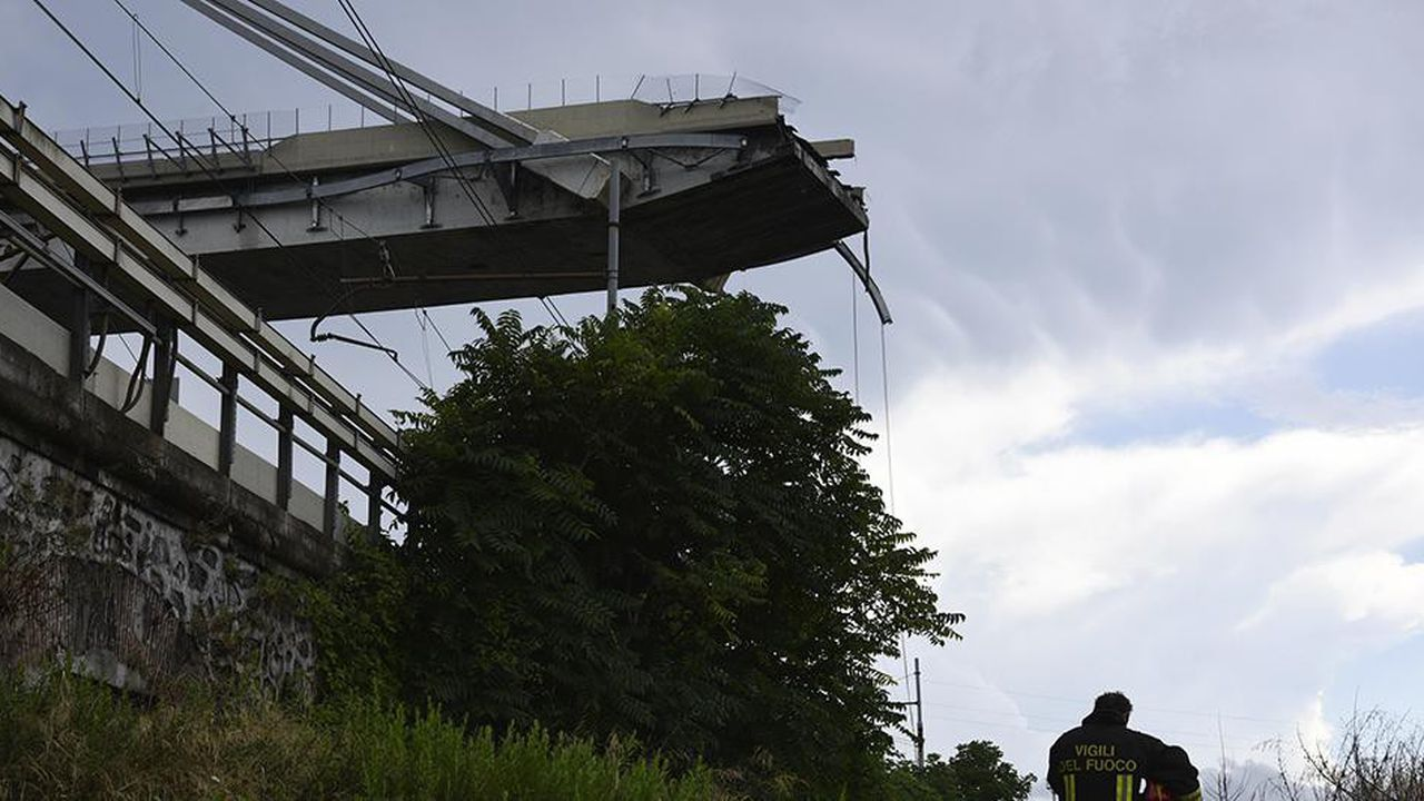 L'effondrement d'un viaduc à Gênes, qui a fait près de 40 morts, interroge sur l'état des infrastructures françaises