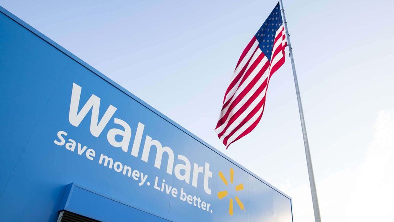 Les ventes dans l'e-commerce, où le géant tente de concurrencer Amazon, sont également bien orientées.