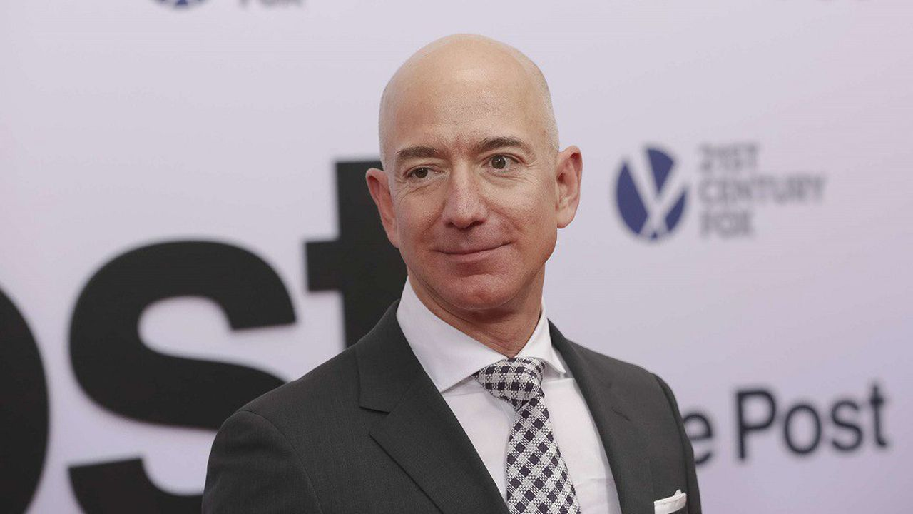 Le PDG d'Amazon Jeff Bezos