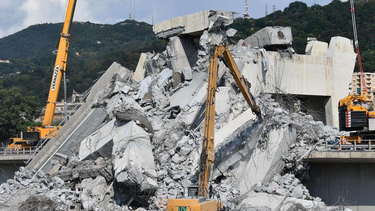 Près d'une dizaine de ponts se sont écroulés ces quatre dernières années en Italie.